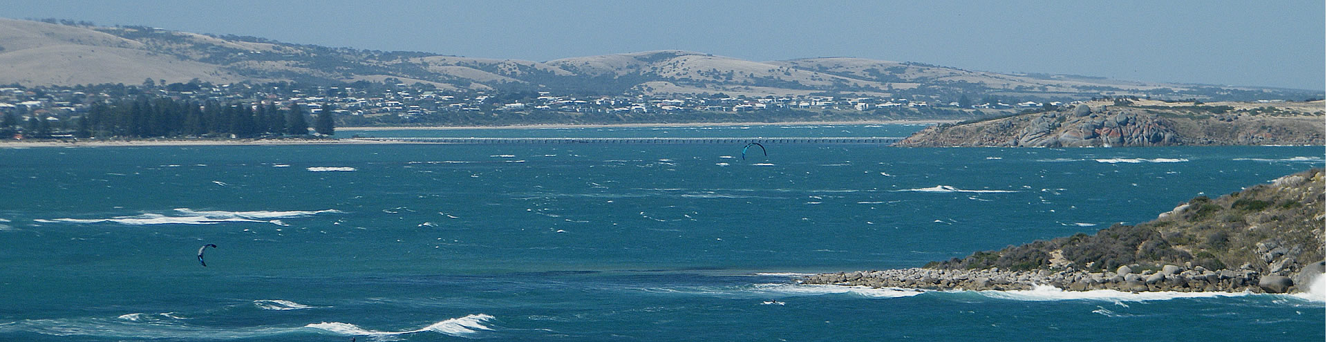 Para Surfers, Encounter Bay on the Fleurieu Peninsula. Copyright © Virtual Visions.